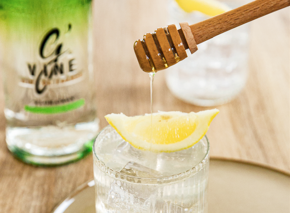 Gin and honey: a valuable combination